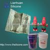 Liquid RTV-2 silicon rubber molding for plaster columns mold