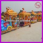 Electrical outdoor amusement children small mini train