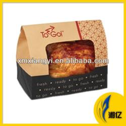 roast chicken paper bag with window