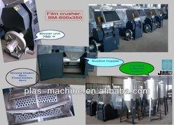 plastic film crusher, ldpe film crusher