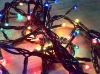 100L Multi-Color Rice Blub String Christmas Light Bulbs Steady