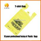 logo printed new design PE shopping plastic bags