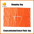 PE shopping die cut plastic handle bag