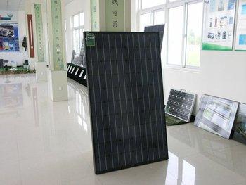 China Shandong 240w black solar panel/pv panle/pv module/solar module