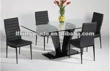wood and glass dining table designs