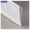 N shape supermarket plastic PVC data strip