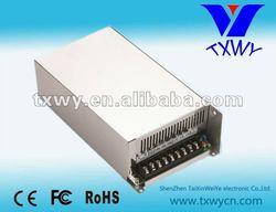 HS-600W-12V metal led drive 5v 12v 15v 24v