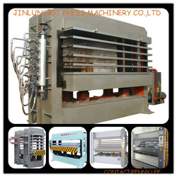 hot sell moulded door skin hot press machine/ hydraulic wood door press machine/ plywood door hot press machine