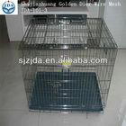 Black pvc coating Dog cage