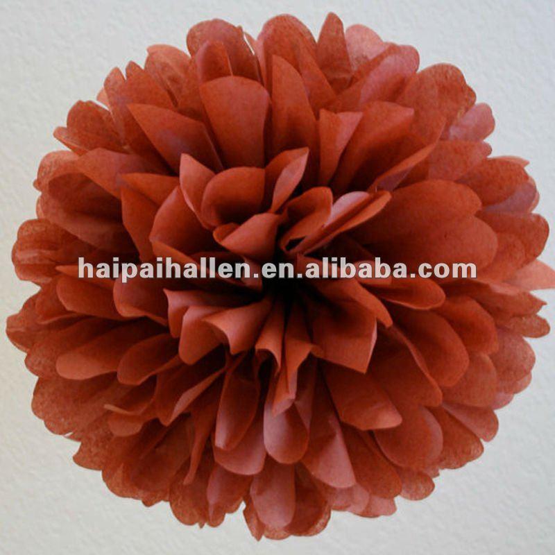 """12"""" papel tissue pompons pompons artesanais de casamento decoração de festa"""