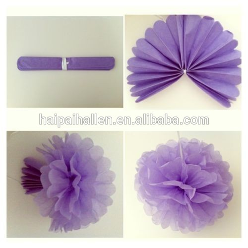 """12 """" Tissue pompons de papel Pom Poms festa de casamento Handmade decoração"""
