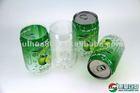 Cola shape beverage / soft drink / fruit juice PET plastic cans