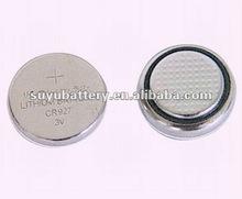 3V CR927 lithium button cell