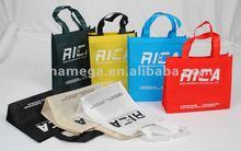 Eyewear foldable shopping non-woven bag