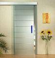 vidrio esmerilado interior puerta