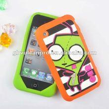 Soft Rubber Case,Sofe Silicone Mobile Case,Silicone Case For I 4