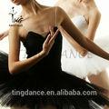 Sh032-5 schwarz hohe qualität ballettkleid