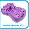 2012Newest design vibrating portable mini foot massage ,foot relaxation device,smart electronic vibrating foot massager