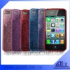 Garanteed 100% TPU Mobile Phone Case for iphone with glitter powder