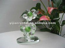 2012 handmade crystal flower plant