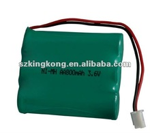 CE&Rohs approval Ni-Mh AA rechargeable battery packs (3NH-AA800MAH)