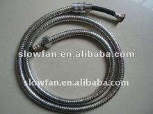 150cm bathtub stainless steel double lock shower hose