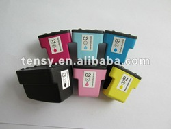 Refilled ink cartridge for hp02XL