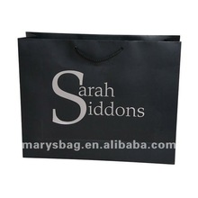 190gsm Laminated Gloss Art Paper Bags with Reinforced Base and PP Rope Handles