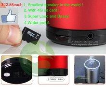 $22.88each mini Abramtek Portable 4G Speaker Super Loud and Bassy usb computer speaker card small stereo wireless speakers