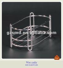 Bathroom wrought iron shower caddy
