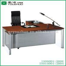 Klasik katı ahşap kullanılmıştır masaları alüminyum ayakları yza93