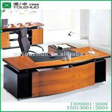 Fashionable red veneer office furniture executive desk YZA67