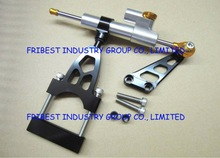 Motorcycle Steering Damper for CB400 92-98 1992 1993 1994 1995 1996 1997 1998 silver