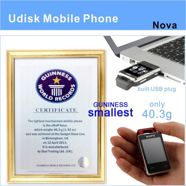patent product!unique HOPU EC107 small size mobile phone