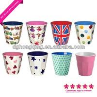 2014 BEST SELLER melamine cup with customized printing / melamine mug