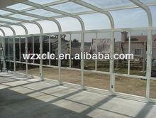 Enclosed aluminum glass porch veranda