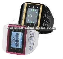 Q8+ watch mobile phone dual sim dual standby quadband compass button keypad wrist watch phone