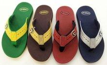 PVC+EVA men stock hotel slipper cheap