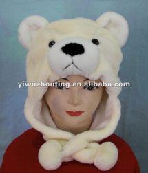 2012 plush crochet animal hat