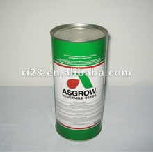 Vegetable seeds round can