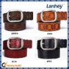 2012 Hollow Out Design Real Leather Belt