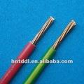 Núcleo de cobre recubierto de PVC Flexible de alambre eléctrico