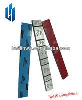 tire weights/zn wheel balance weight/adhesive balancing weight