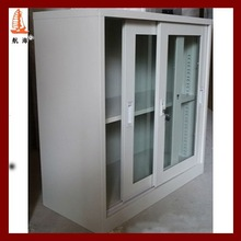 The London Olympics suppliers&metal book cabinet with glass, glass door metal closet.