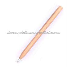 Stick wooden ballpoint pen