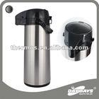 1.9L air pot dispenser thermal carafe metal vacuum flask kitchen utensil