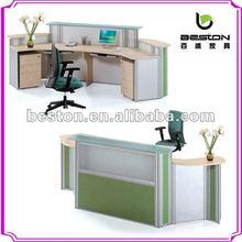 wood reception desk design NA-001