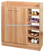 High Capacity two doors modern shoe cabinet