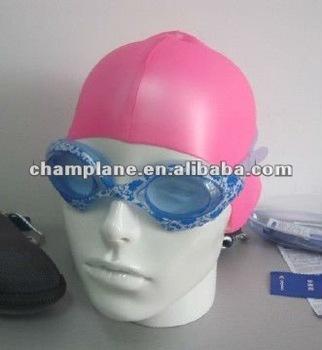 2014 colorful wide swim goggles L011232-05