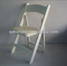 folding wood garden chair